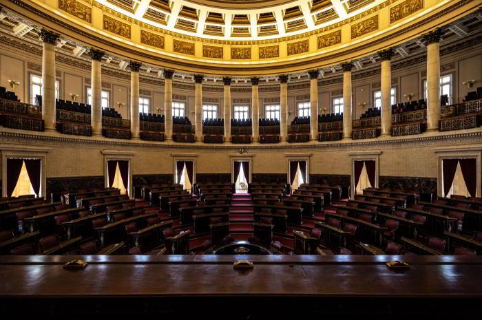 Plenarsaal im Kapitol