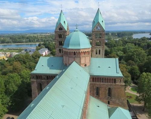 Speyerer Dom: Blick auf die Kuppel