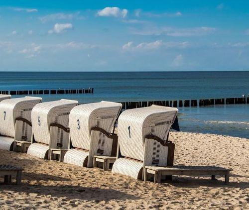 Badestrand an der Ostsee