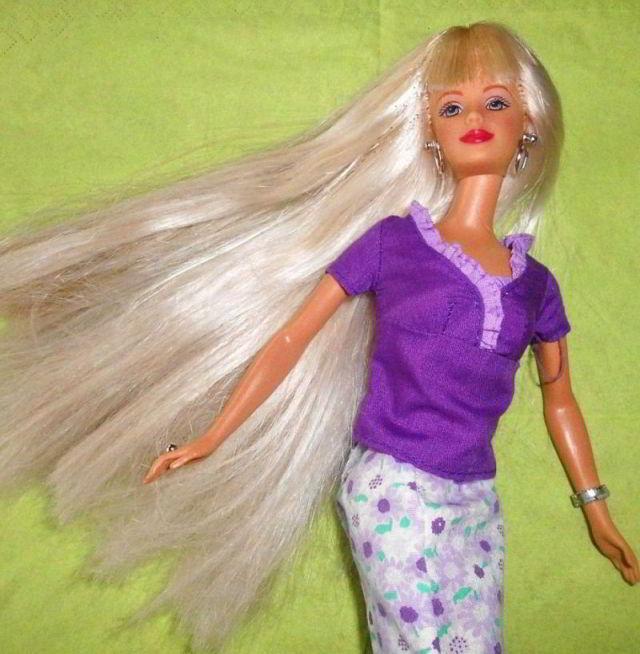 Wie Bekommt Man Barbie Haare Wieder Schön